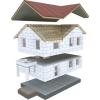 Быстровозводимые дома из теплобетонных панелей от производителя